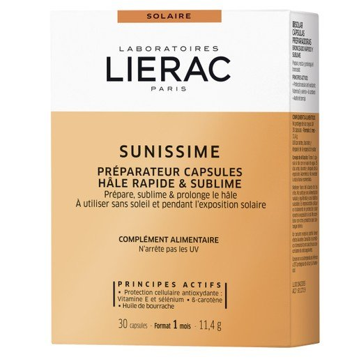 Lierac Sunissime Capsules Bronzage Rapide & Sublime Protection Cellulaire Anti-age 30caps