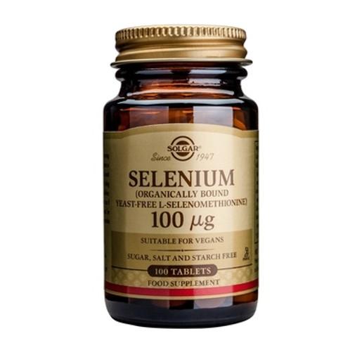 Solgar Selenium 100μg 100 tabs