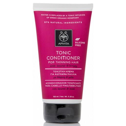 Apivita Tonic Conditioner Τονωτική Κρέμα για Αδύναμα Μαλλιά με Δάφνη & Μέλι, 150ml