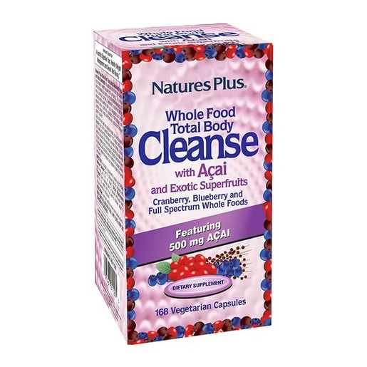 Nature\'s Plus Total Body Cleanse Φόρμουλα Αδυνατίσματος & Αποτοξίνωσης Ολόκληρου του Οργανισμού 168vcaps
