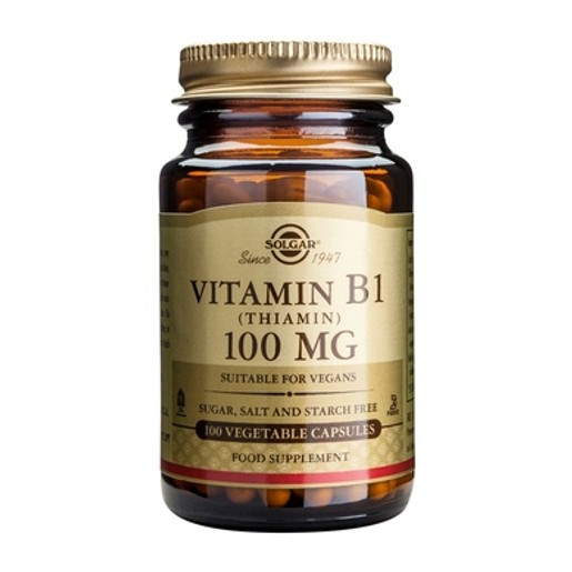 Solgar Vitamin B1  (Θειαμίνη) 100mg 100 veg.caps