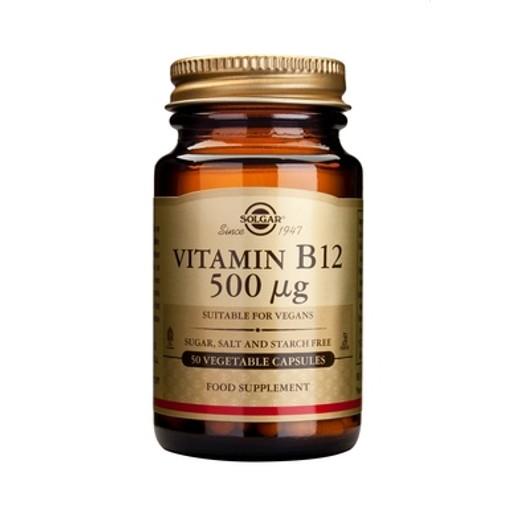 Solgar Vitamin  B12 (κοβαλαμίνη) veg.caps