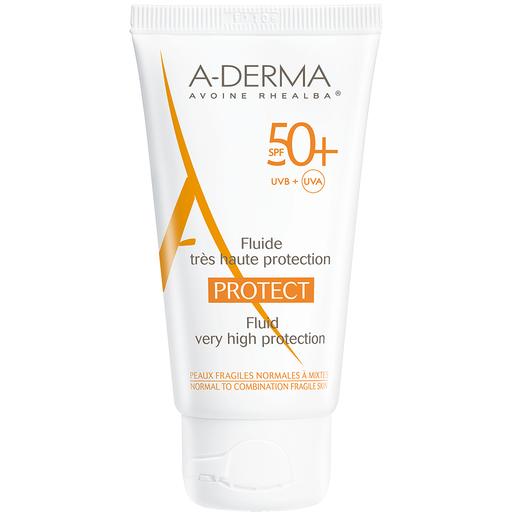 Protect Fluide Visage Spf50+ 40ml - A-derma