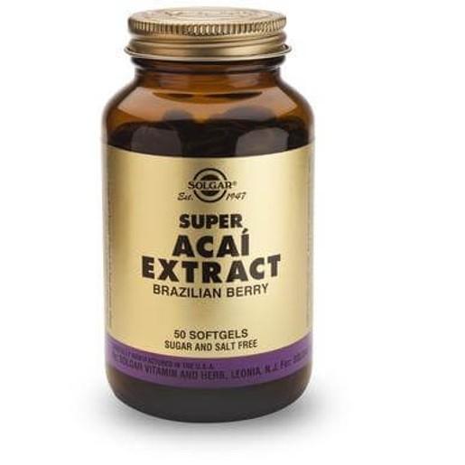 Super Acai Extract 50 softgels - Solgar