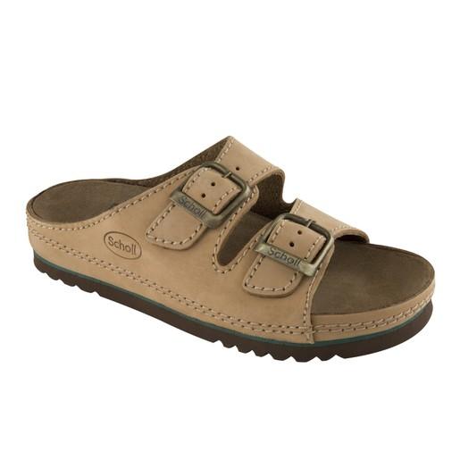 Scholl Shoes AirBag Καφέ Ανδρικά Ανατομικά Παπούτσια που Χαρίζουν Σωστή Στάση & Φυσικό, Χωρίς Πόνο Βάδισμα 1 Ζευγάρι