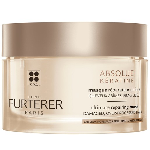 Rene Furterer Absolue Keratine Renewal Repairing Mask Fine to Medium Hair Μάσκα απόλυτης αναδόμησης  Κανονικά/Λεπτά Μαλλιά 200ml