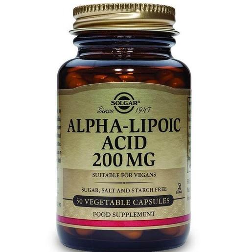 Solgar Alpha Lipoic Acid veg.caps