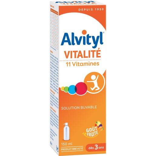 Alvityl Σιρόπι Πολυβιταμινούχο Συμπλήρωμα Διατροφής με 11 Βιταμίνες 150ml Promo -10%