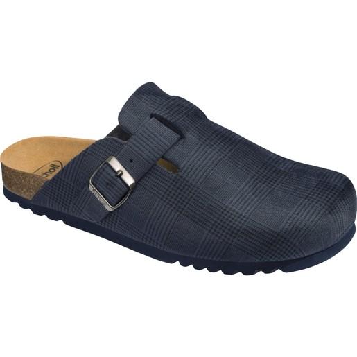 Scholl Shoes Amiata Man F290601040 Navy Blue 1