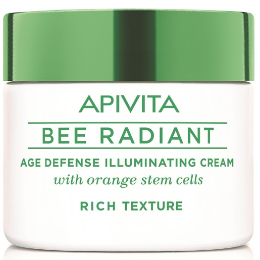 Apivita Bee Radiant Cream, Rich Texture 50ml