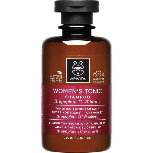 Apivita Women\'s Tonic Shampoo With Hippophae Tc & Laurel 250ml