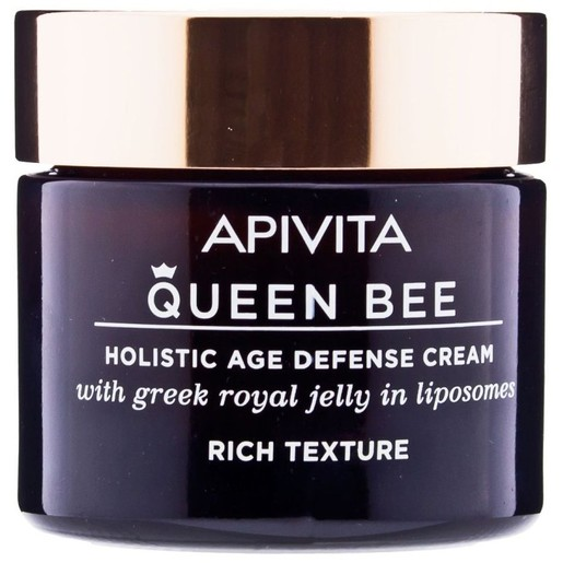 Apivita Queen Bee Holistic Age Defence Day Cream With Greek Royal Jelly in Liposomes Rich 50ml