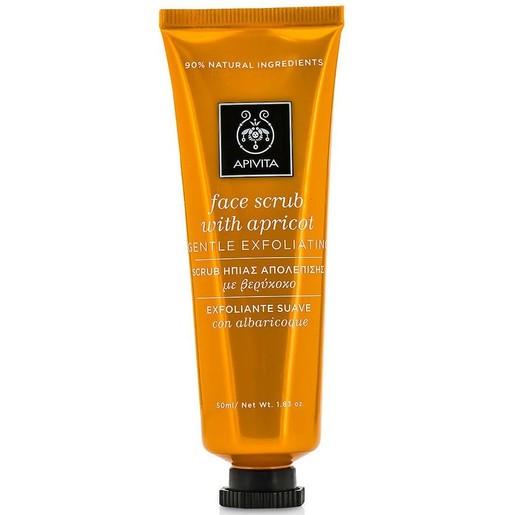 Apivita Face Scrub With Apricot 50ml