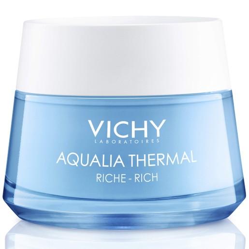 Vichy Aqualia Thermal Rich Rehydrating Cream Ενυδατική Κρέμα ΗμέραςΠλούσιας Υφής για Ξηρή Επιδερμίδα 50ml