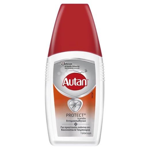 Autan Protect Εντομοαπωθητικό Γαλάκτωμα για Προστασία Από Κουνούπια & Τσιμπούρια 100ml