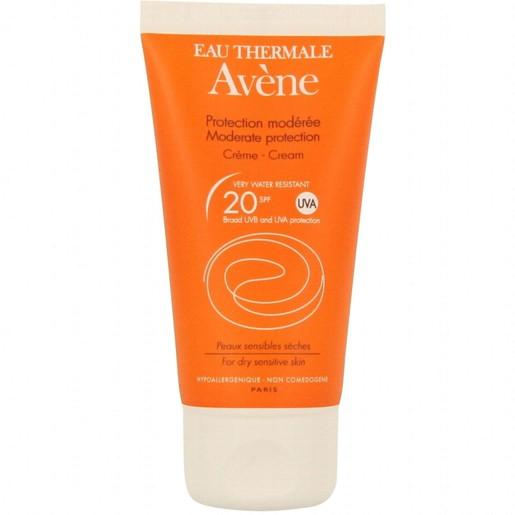 Avene Creme Spf20 Μέτρια Αντηλιακή Προστασία του Ευαίσθητου - Ξηρού Δέρματος του Προσώπου 50ml