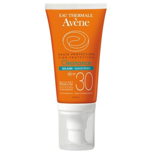 Avene High Protection Cleanance Solaire Spf30 Υψηλή Προστασία, Ματ Αποτέλεσμα του Λιπαρού Δέρματος & Δέρματος με Τάση Ακμής 50ml