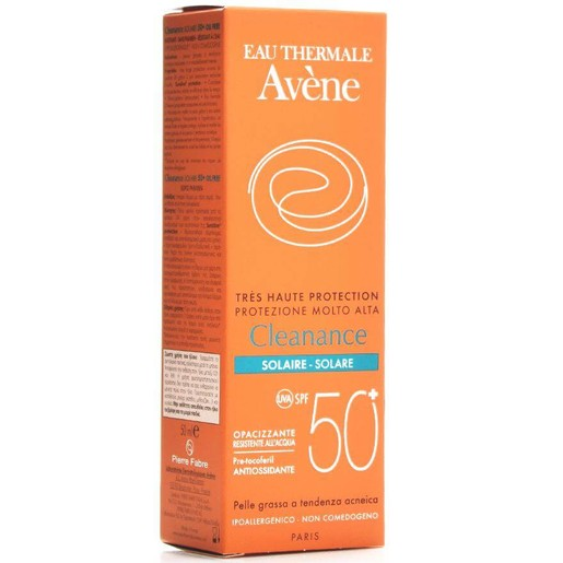 Avene Very High Protection Cleanance Solaire Spf50+ Πολύ Υψηλή Αντηλιακή Προστασία για Δέρματα με Τάση Ακμής 50ml
