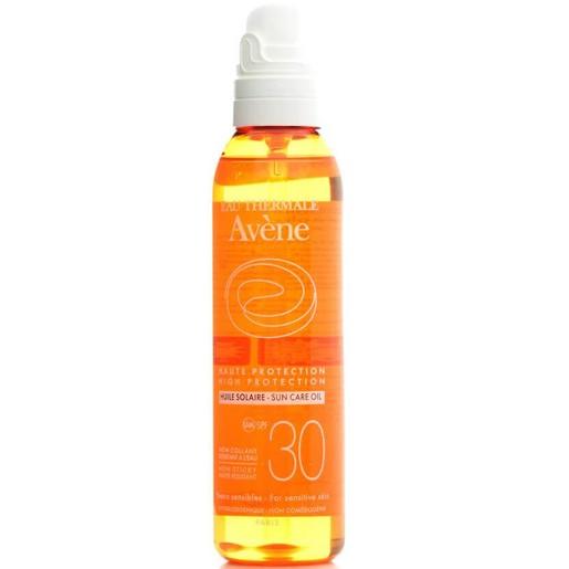 Avene High Protection Huile Solaire Spray Spf30 Αντηλιακό Λάδι Υψηλής Προστασίας για την Ευαίσθητη Επιδερμίδα του Σώματος 200ml