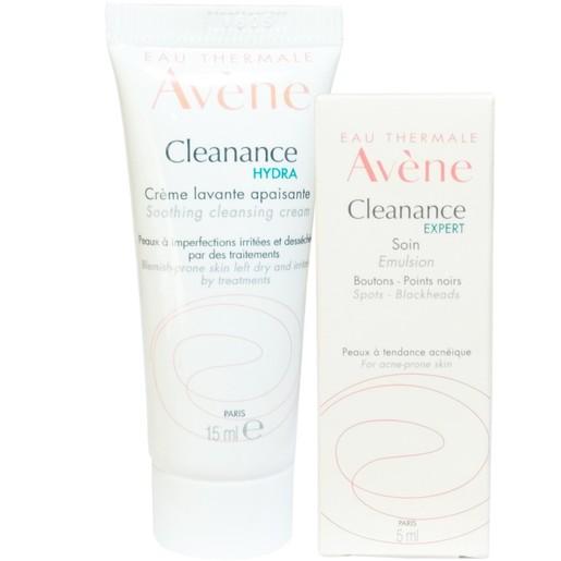 Δώρο Avene Cleanance Expert Soin Κρέμα για Ατέλειες 5ml & Cleanance Hydra Creme Lavante Apaisante Κρέμα Καθαρισμού 15ml