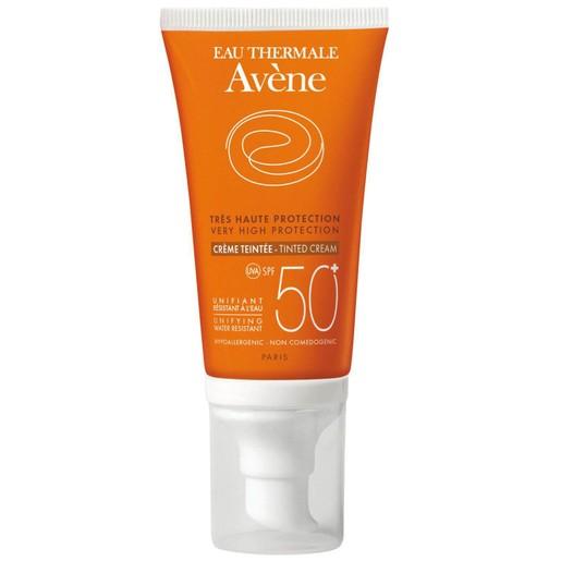 Avene Very High Protection Tinted Creme Spf50+ Αντηλιακή Κρέμα Προσώπου με Χρώμα, Πολύ Υψηλής Προστασίας 50ml