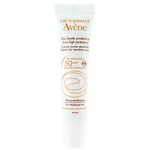 Avene Very High Protection Creme Zone Sensible Spf50+ Αντηλιακή Κρέμα για τις Ευαίσθητες Ζώνες του Προσώπου 15ml
