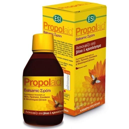 Esi Propolaid Balsamic Σιρόπι Για Την Άμεση Ανακούφιση Των Συμπτωμάτων Του Κοινού Κρυολογήματος 200ml