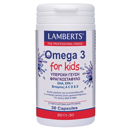 Lamberts Omega 3 for Kids (Berry Bursts) Chewable