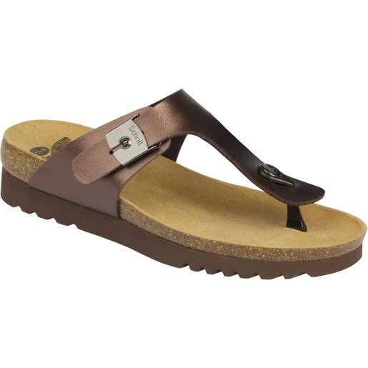 Scholl Shoes Boa Vista Up Καφέ Γυναικεία Ανατομικά Παπούτσια Χαρίζουν Σωστή Στάση & Φυσικό Χωρίς Πόνο Βάδισμα 1 Ζευγάρι