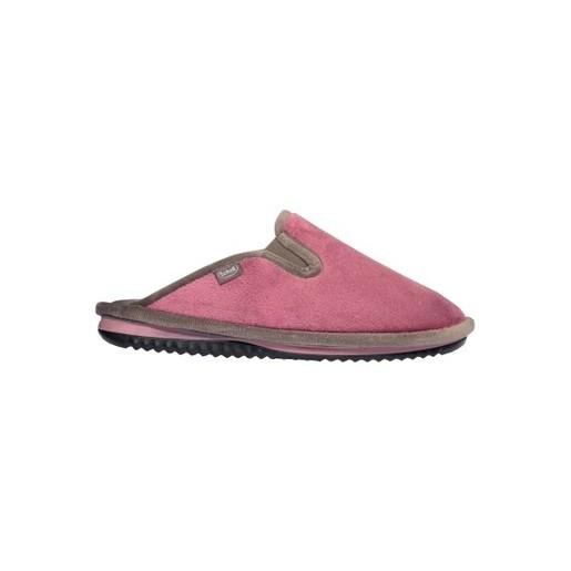 Scholl Shoes Brienne Dusty Pink Grey Γυναικίες Παντόφλες Ροζ Γκρι 1 Ζευγάρι
