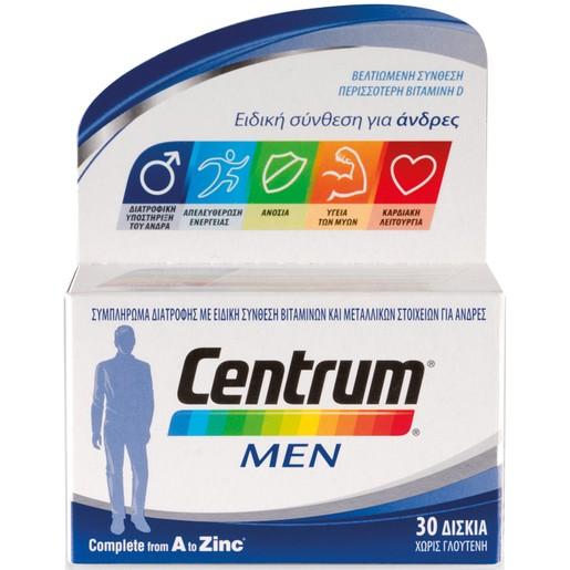 Centrum Men A to Zinc 30Tabs