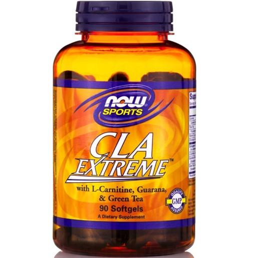 Now Sports Cla Extreme Συμβάλλει στην Υποστήριξη του Μεταβολισμού και την Παραγωγή Ενέργειας 90softgels