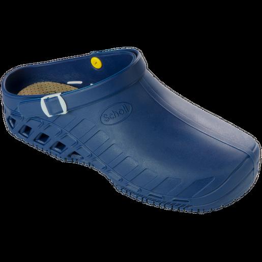Scholl Shoes Clog Evo Μπλε Επαγγελματικά Παπούτσια, Χαρίζουν Σωστή Στάση & Φυσικό Χωρίς Πόνο Βάδισμα 1 Ζευγάρι