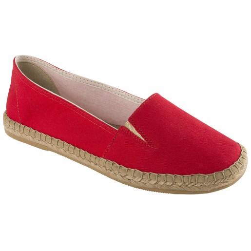 Dr Scholl Shoes Corfu Κόκκινο Ανατομικά Παπούτσια Τύπου Εσπαντρίγια Χαρίζουν, Σωστή Στάση & Φυσικό, Χωρίς Πόνο Βάδισμα 1 Ζευγάρι