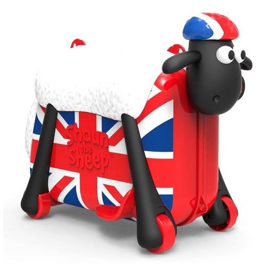 Shaun the Sheep Βαλίτσα με την Αγγλική Σημαία