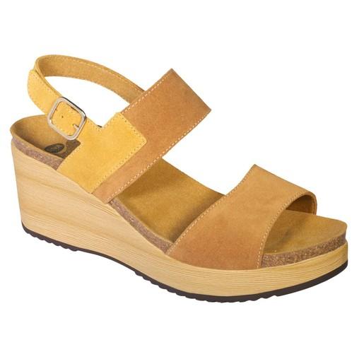 Scholl Shoes Elara F270571013 Camel Γυναικεία Ανατομικά Παπούτσια Χαρίζουν Σωστή Στάση & Φυσικό Χωρίς Πόνο Βάδισμα 1 Ζευγάρι
