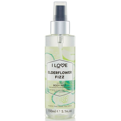 I love... Elderflower Fizz Scented Body Mist Αρωματικό Spray 150ml