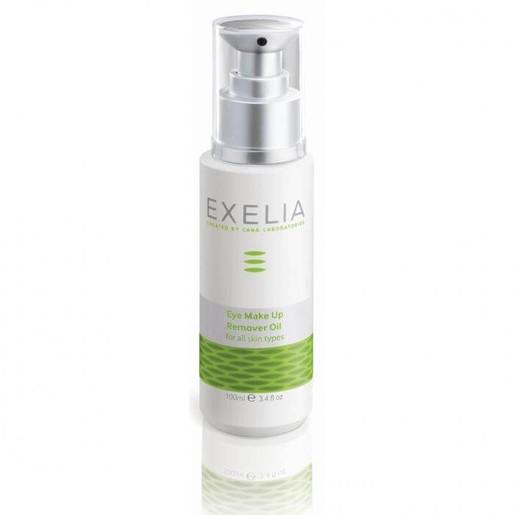 Exelia Eye Make Up Remover Oil (for all skin types) Αφαιρώντας Σχολαστικά Το Μακιγιάζ 100ml