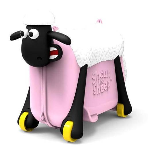 Shaun the Sheep Βαλίτσα σε Ροζ Χρώμα