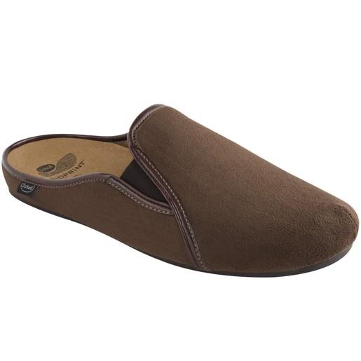 Scholl Shoes Felce Καφέ Ανδρικές Ανατομικές Παντόφλες Χαρίζουν Σωστή Στάση & Φυσικό Χωρίς Πόνο Βάδισμα 1 Ζευγάρι