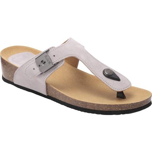 Scholl Shoes Gandia 2.0 Grey Γυναικεία Ανατομικά Παπούτσια Χαρίζουν Σωστή Στάση & Φυσικό Χωρίς Πόνο Βάδισμα 1 Ζευγάρι