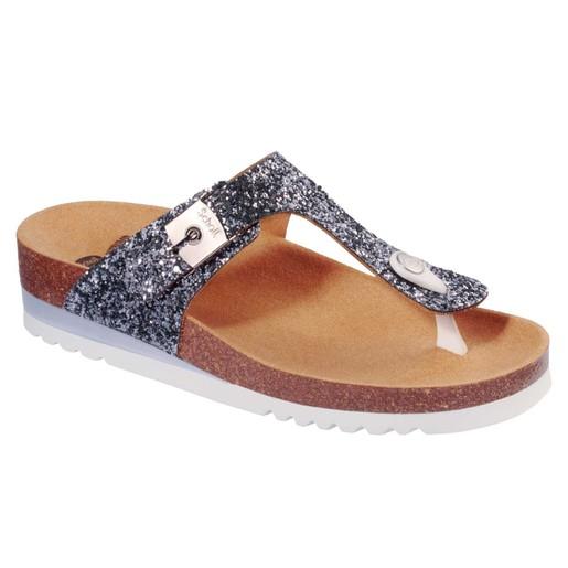 Dr Scholl Shoes Glam SS 1 Pewter Γυναικεία Ανατομικά Παπούτσια Χαρίζουν Σωστή Στάση & Φυσικό Χωρίς Πόνο Βάδισμα 1 Ζευγάρι