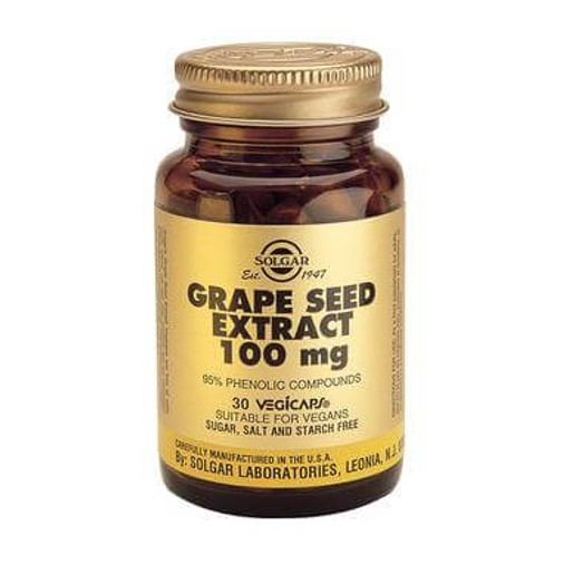 Solgar Grape Seed Extract 100mg 30 caps