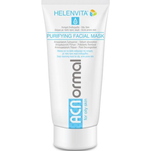Helenvita ACNormal Purifying Facial Mask Μάσκα για Βαθύ Καθαρισμό της Λιπαρής με Τάση Ακμής, Επιδερμίδας 75ml