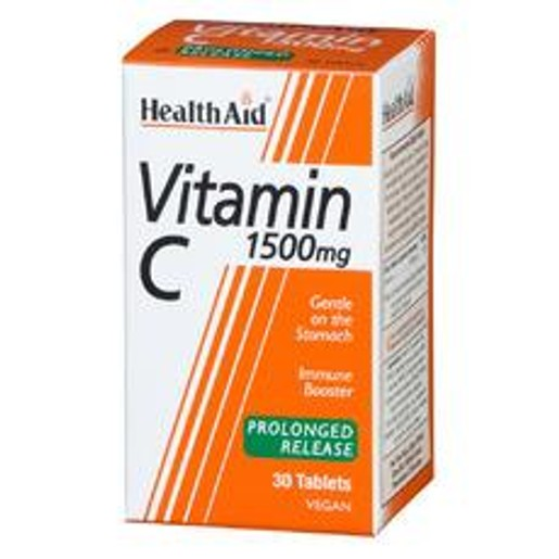 Health Aid Vitamin C 1500mg With Bioflavonoids 30tabs