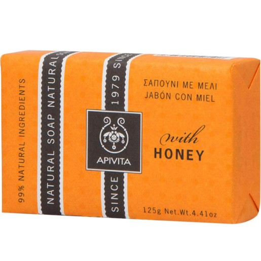 Apivita Natural Soap With Honey 125g