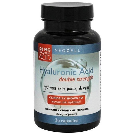 Neocell Hyaluronic Acid Double Strength 120mg 30Caps