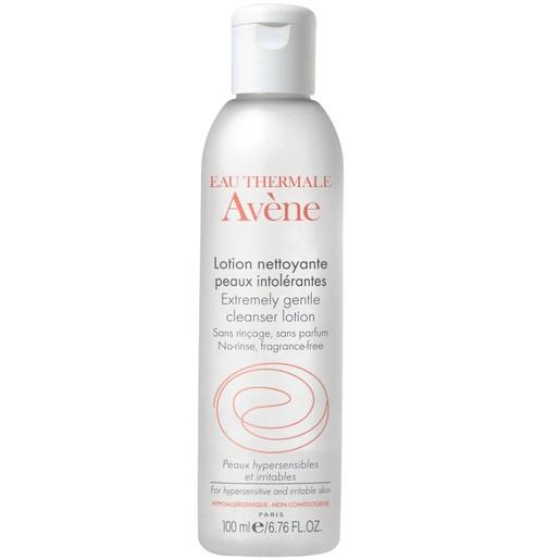 Avene Lotion Nettoyante Peaux Intolerantes Lotion Καθαρισμού για Πρόσωπο & Μάτια για το μη Ανεκτικό Δέρμα 100ml