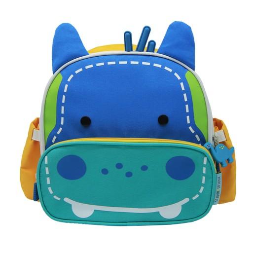 Marcus & Marcus Insulated Lunch Bag Hippo Lucas 3+ Ισοθερμική Παιδική Τσάντα Γεύματος Ιπποπόταμος