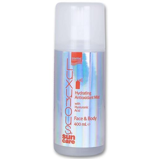 Luxurious Sun Care Hydrating Antioxidant Mist Face & Body Ενυδατικό Νερό για Πρόσωπο-Σώμα για Μετά τον Ήλιο 400ml